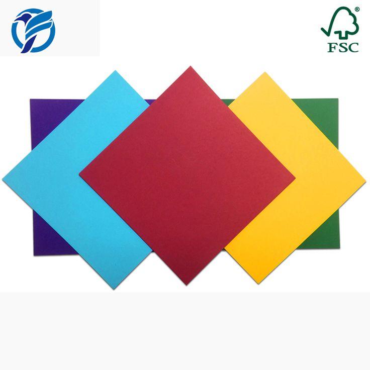 FSC Certified 65lb/176gsm 12*12 in Cardstock Paper Manufacturer
