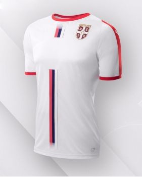 61e69455676 2018 World Cup Jersey Serbia Away Replica White Shirt  BFC802 ...