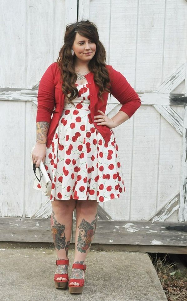 Curvy Girl Fashion 40 Plus Size Outfits 3