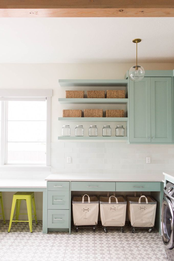 laundry room | Ashley Winn Design