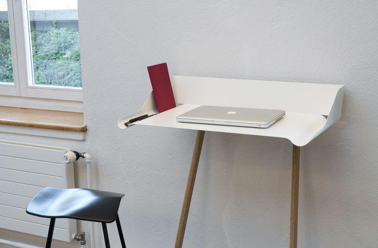 Anlehn-Stehpult Storch, Design Nando Schmidlin fuer Mox