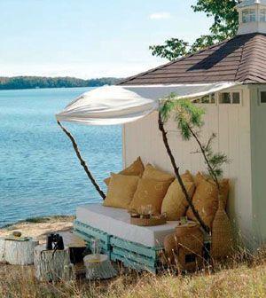 Doğal ve stil sahibi: Palet yataklar | Evim Online
