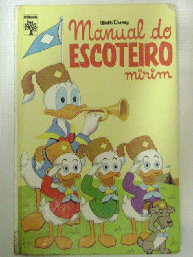 Manual do Escoteiro Mirim : 1ª Edição Capadura Abril Disney R$169,77 - IDEALIVROSEDISCOS | TodaOferta