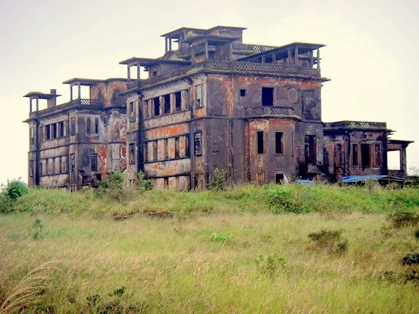 Bokor resort Hotel-Casino, Cambodia (a French ghost town in Preah Monivong National Park)