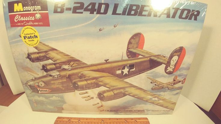 Brand New Still Factory Sealed Revell  Monogram Classics B-24D Liberator 1:48 #RevellMonogram