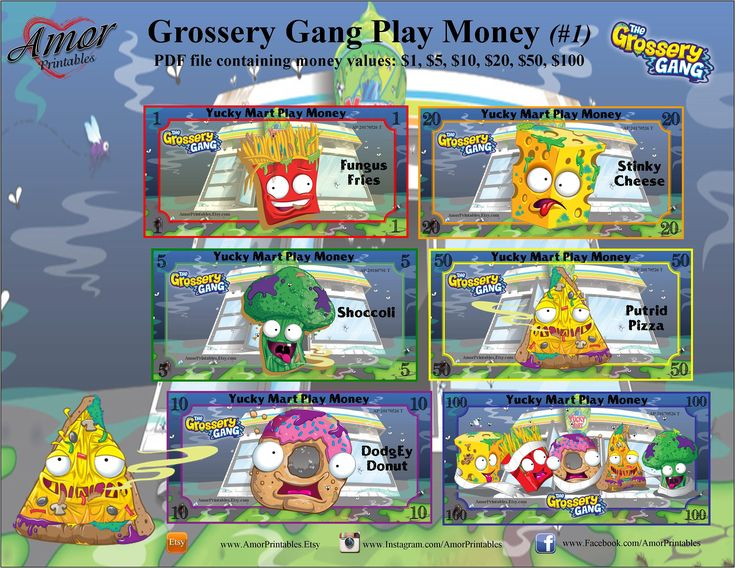 how to play grossery gang