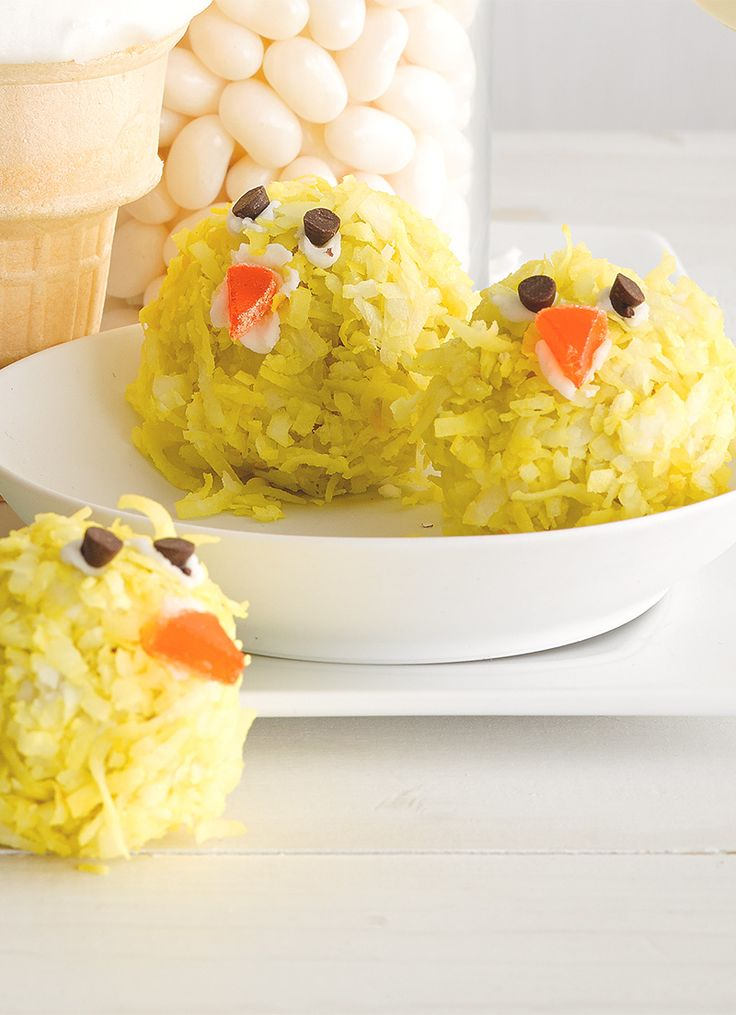 All you need to make these adorable coconut chicks for ...