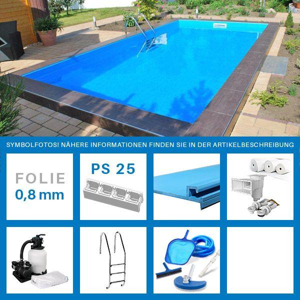 201 best images about pool selber bauen on pinterest for Pool bestellen