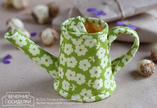 Лейка — весенний декор / Spring decoration — Watering pot - Вечерние посиделки
