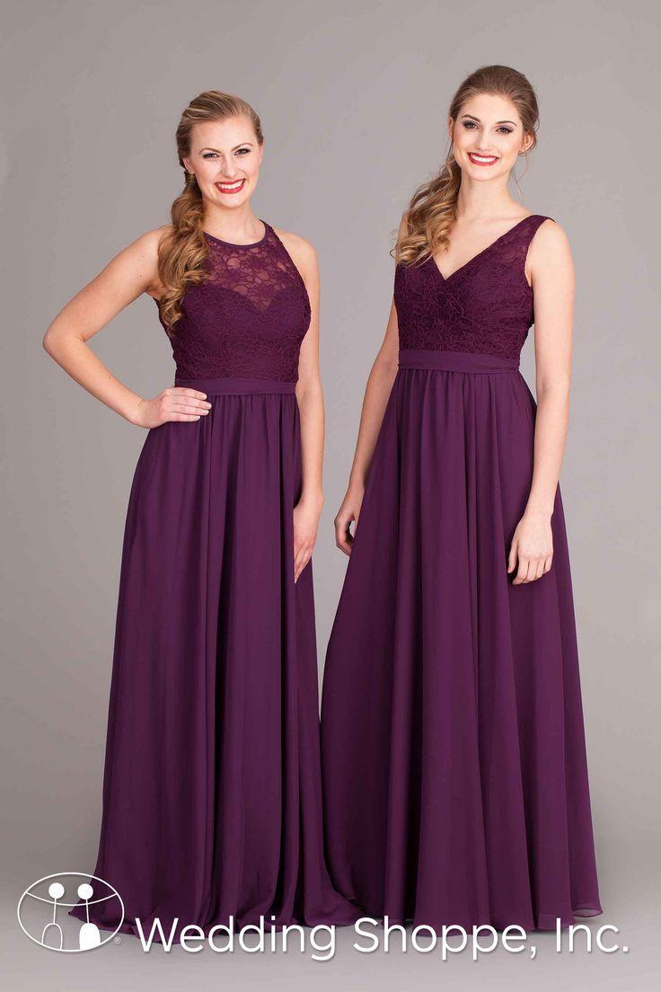 2016 New Purple Bridesmaid Dresses Different Design of Neck Mermaid ...