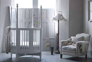 Add a touch of stately-home grandeur to your nursery with the Orpheus round cot. With all the elegance and sophistication of a four-poster bed, the Orpheus cot blends superb design with unbeatable safety features. Whether it's looking stylish in the corner of the nursery or used as a dramatic centre-piece, this circular cot has all the makings of a future design classic. www.Bambizi.co.uk