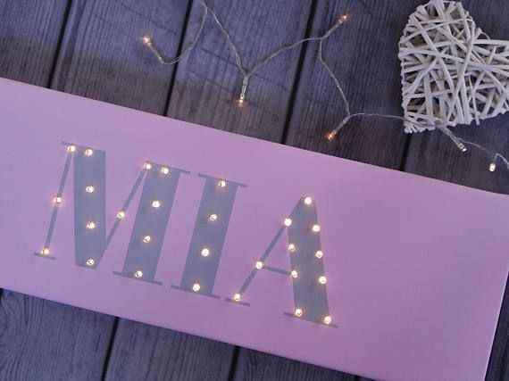 Check out this item in my Etsy shop https://www.etsy.com/listing/577048271/name-sign-light-up-letters-name-in