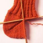 Socken mit Jojo-Ferse stricken (von Lana Grossa)