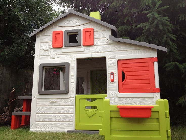 Ponad 25 najlepszych pomysłów na Pintereście na temat Spielhaus - spielhaus garten kunststoff smoby