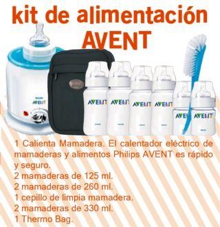 Kit de Alimentación Avent