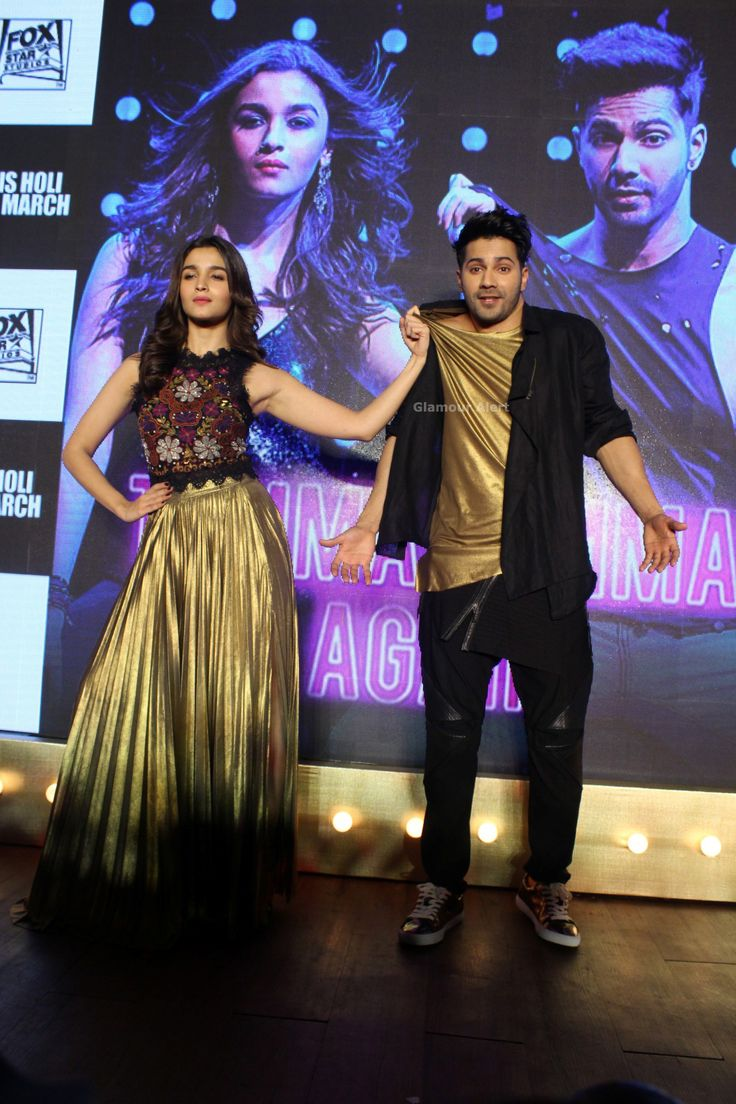 [PHOTOS] Varun Dhawan & Alia Bhatt launch Tamma Tamma song from Badrinath Ki Dulhania