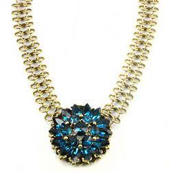Semi Precious Choker Collar Necklace