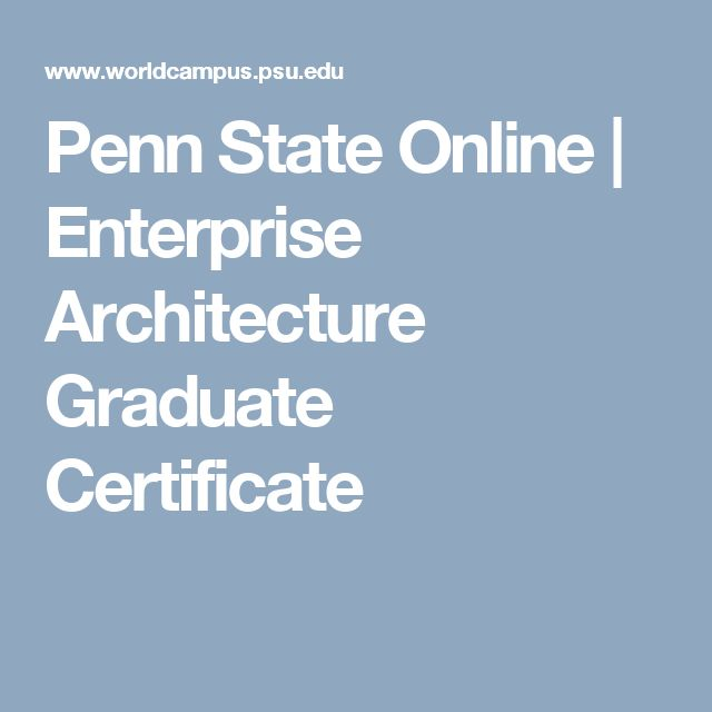 50 best Penn State Masters images on Pinterest   Master\'s degree ...