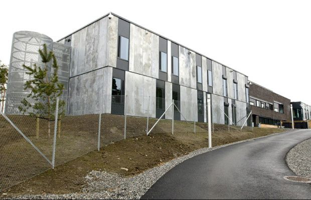 Halden Prison Location: Halden, Norway  This is a sleek and modern Norwegian prison that's received intern...