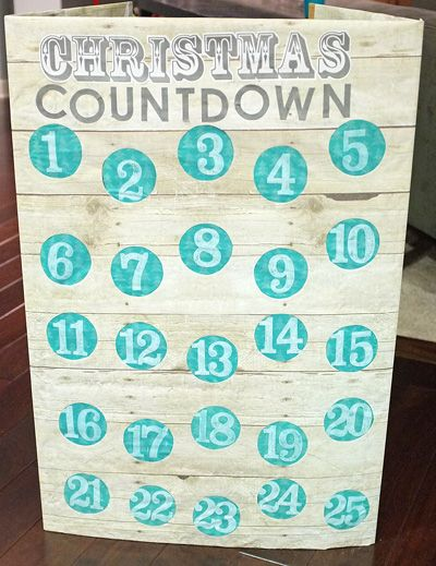 Punch Advent Calendar Parties for Kiddos Pinterest Christmas