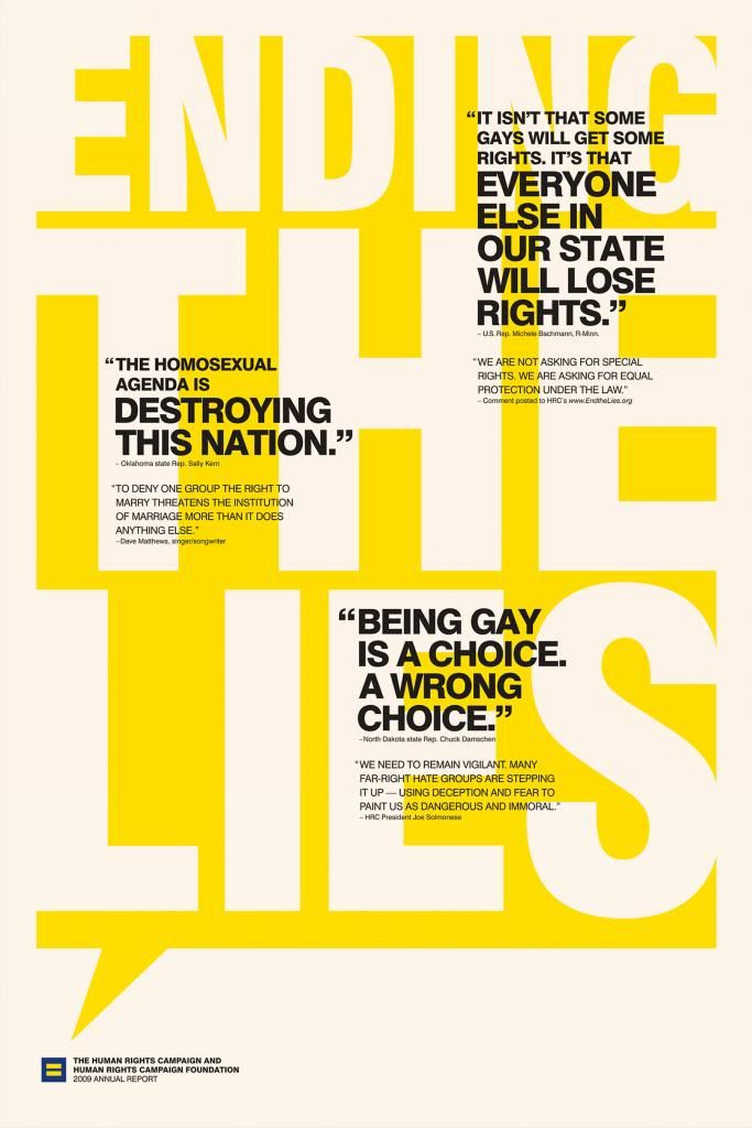 Interesting page layouts for the Human Rights Campaign group.    http://edwardscott-design.co.uk/