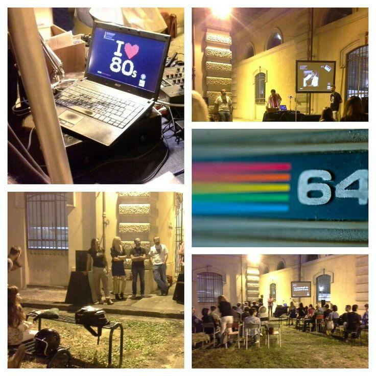 """""""64, cose degli '80"""" #museodelcalcolo #pisa #64MANIA #giugnopisano @arcobalenestate @Unipisa @gaprecordstore @radiocicletta @arsarsenale"""
