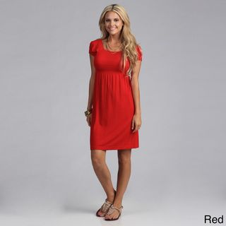 Tabeez Women's Gauze Empire Waist Dress | Overstock.com Shopping - Top Rated Tabeez Casual Dresses