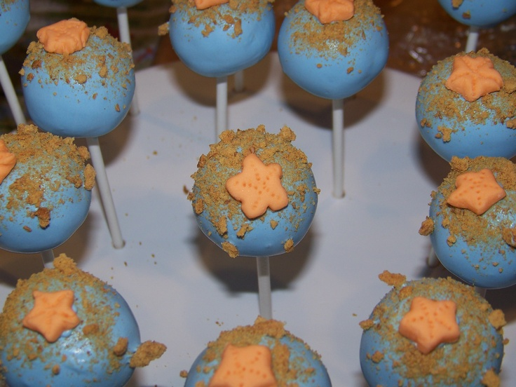 Cake pops by Cake Pops By Sarah. To vote for this picture, please visit: http://www.kcbakes.com/summer-contest-pics.html