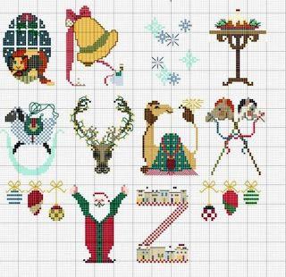 Christmas alphabet 2