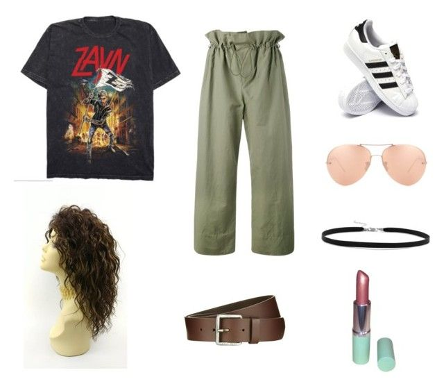 """Downtown walkin fast"" by sajniashpatel on Polyvore featuring BillyTheTree, Linda Farrow, Clinique, STELLA McCARTNEY, BOSS Orange and adidas"