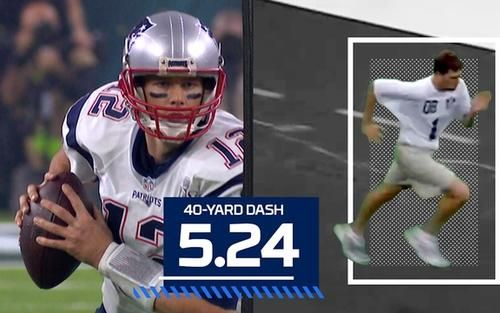 Take a side-by-side look at Tom Brady's 2000 NFL Scouting Combine performance and NFL career.