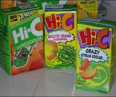 Hi-C Ecto-Cooler you were so excited to find this in your lunch box
