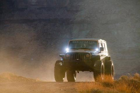 Jeep gettin' dusty. Re-Pinned by JeepDreams.com
