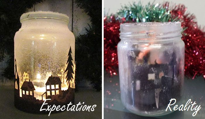 I Tried To Make Handcrafted Xmas Decorations… And Failed | Bored Panda