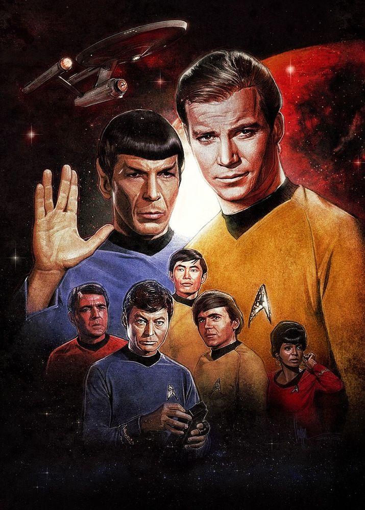 Paul Shipper - Star Trek Origins   Geek-Art Store