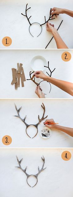 DIY Deer Costume | LaurenConrad.com:                                                                                                                                                                                 More