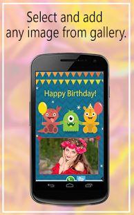 Birthday Greeting Card  Maker- screenshot thumbnail