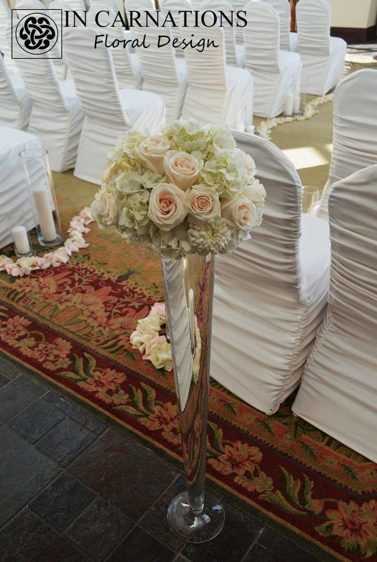 #wedding #weddingflowers #weddingdecor #aisle #ceremony #incarnationsdesign