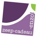 Logo website Zeep-Cadeau-Enzo; handgemaakte geschenken van het label: © Creatieve Kunst
