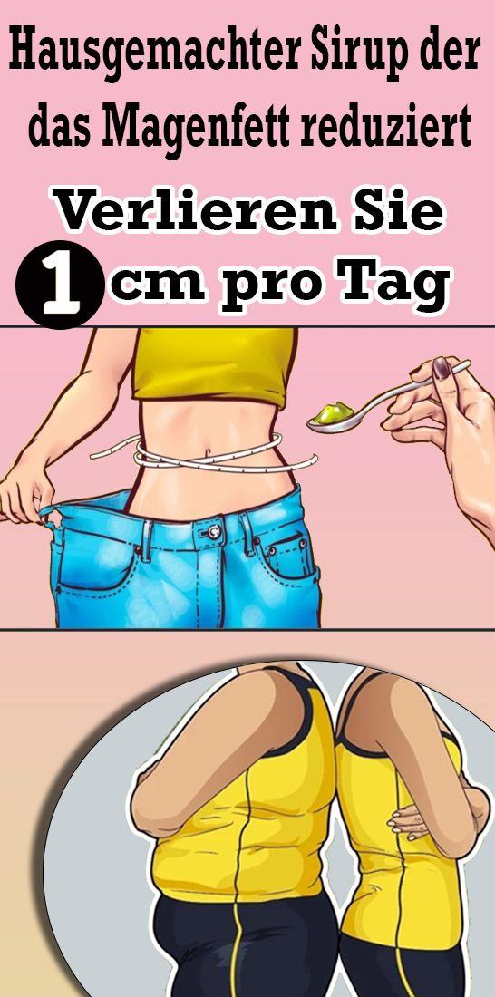 Hausgemachter Sirup, der das Magenfett reduziert: Verlieren Sie 1cm pro Tag