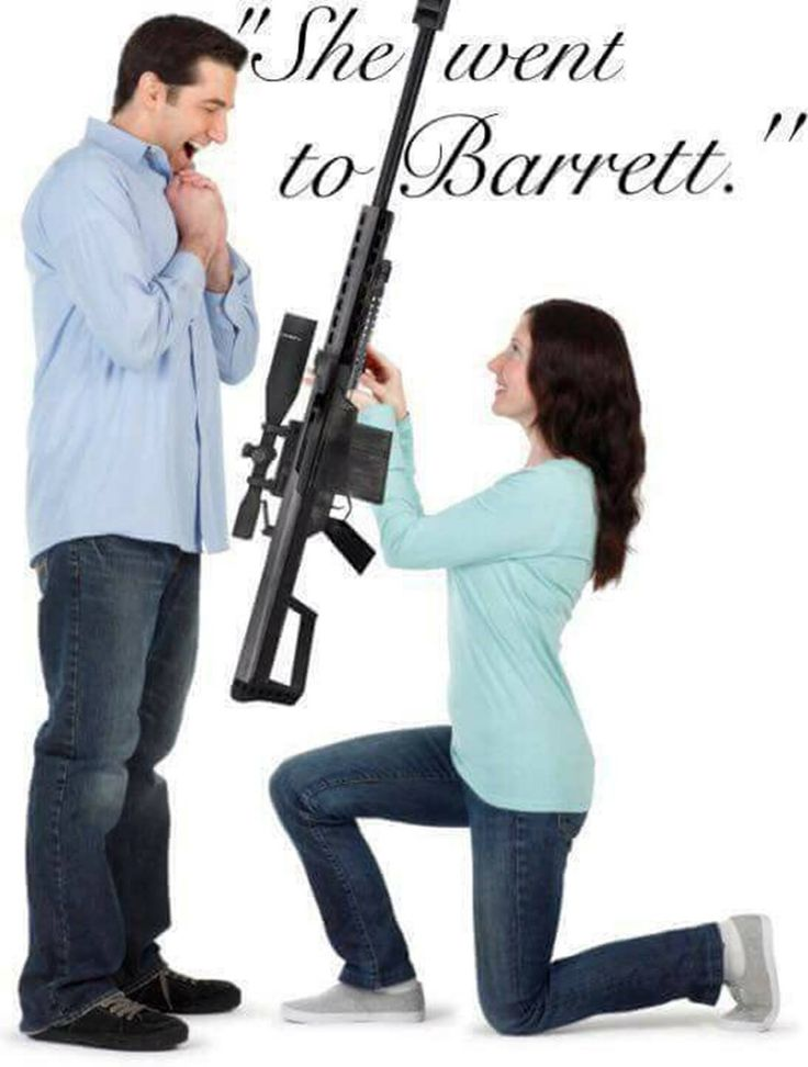 He went to Kay's. She went to Barrett. The Barrett Light .50, ( .50 BMG ) ... She's a Keeper!!
