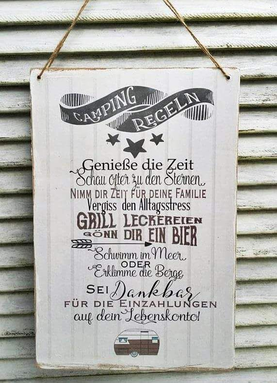 Camping-Regeln