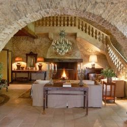 Moulin du Jardinier is a 15th century converted mill house nestled in the hills in the South of France.