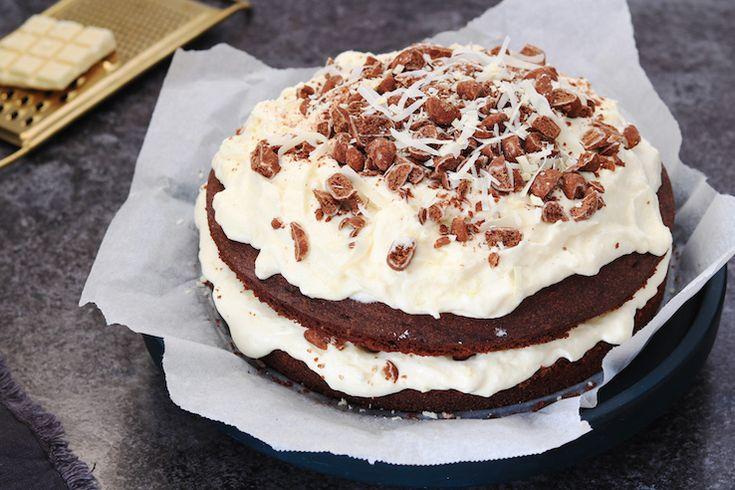 Chocoladetaart met kruidnoten