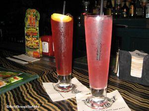 Pink Parrot Lemonade        1 part Skyy Infusions Citrus vodka, 1 part X-Rated Fusion liqueur, 1 part pomegranate syrup, 1 part Mr. & Mrs. T's sweet & sour, 2 parts Sprite.