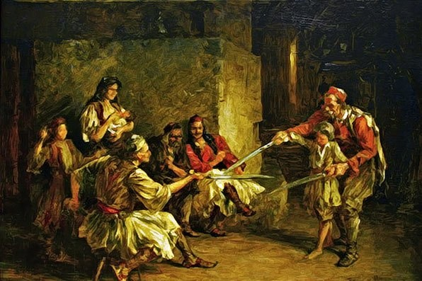 Macavanje Paja Jovanovic 1859 1957 My Favorite Serbian