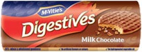 McVities Digestives - I fell in love with these biscuits in the Netherlands, then I was able to feast on them in Finland one year later. Finally these British biscuits are also available in Gemany. Awesome!