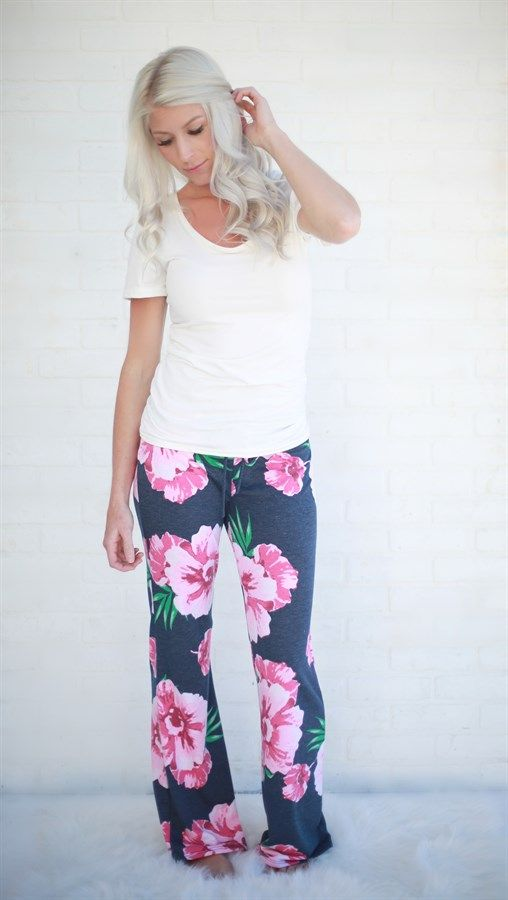 These lounge pants are so comfy yet so stylish you won't want to take them off!