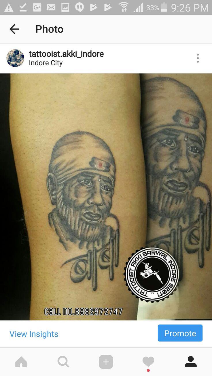 Sai baba. Sab ka malik Ek baba tattoo by akki barwal