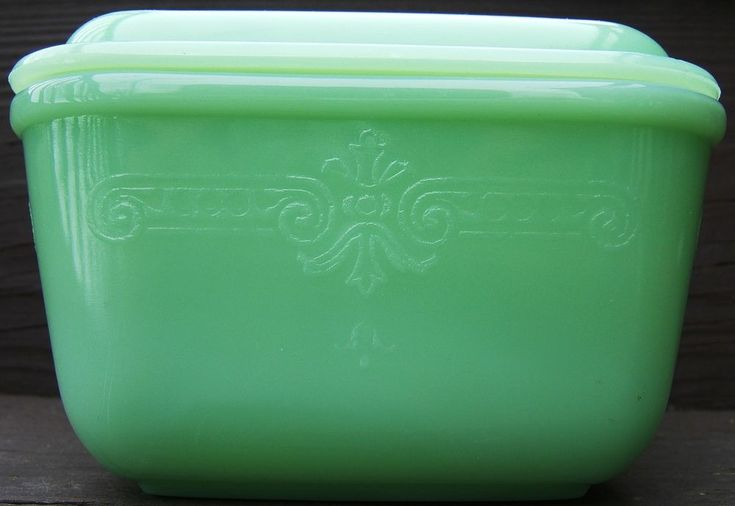 Check out Vintage AH FIRE KING PHILBE PATTERN JADEITE SMALL REFRIGERATOR DISH  with COVER  http://www.ebay.com/itm/Vintage-AH-FIRE-KING-PHILBE-PATTERN-JADEITE-SMALL-REFRIGERATOR-DISH-COVER-/151010588576?roken=cUgayN&soutkn=9dJL0q via @eBay